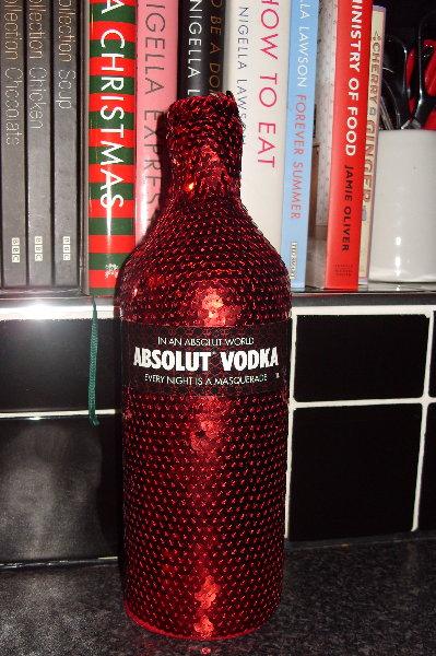New year vodka